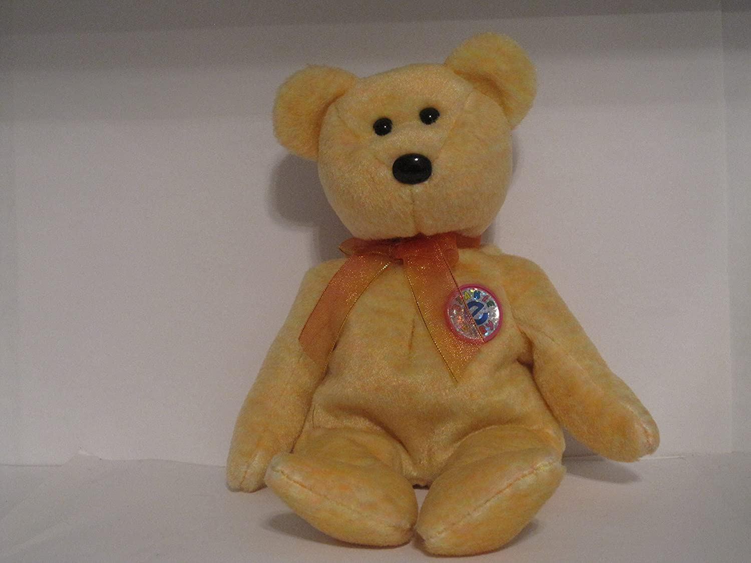 MINT with MINT TAG TY SUNNY the BEAR BEANIE BABY