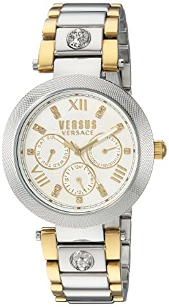Versus by Versace Womens CAMDEN MARKET Quartz Stainless Steel Casual Watch, Color: