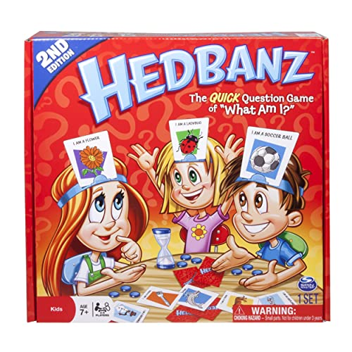 Hedbanz Game Edition May Vary