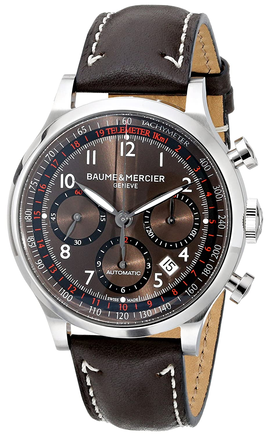 Baume Mercier Men s 10002 Capeland Mens Automatic Chronograph Watch