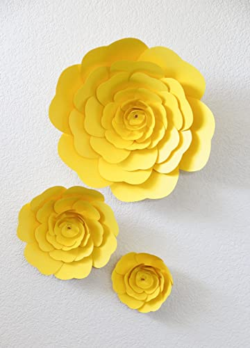 Amazon large paper flowers childrens room decor living room large paper flowers childrens room decor living room decor wall decor baby mightylinksfo
