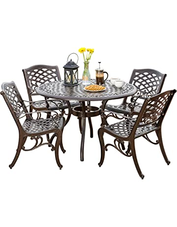 83a3b307fe80 Hallandale Outdoor Furniture Dining Set