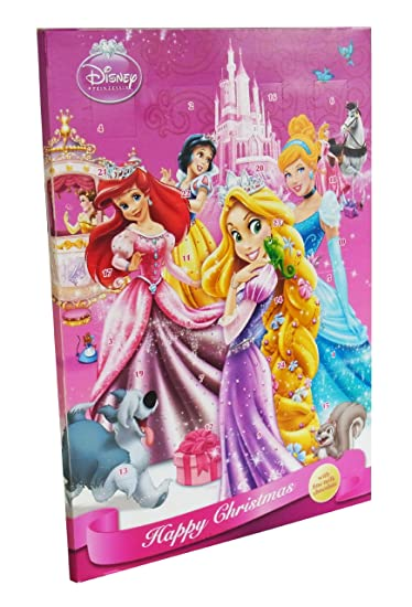 Disney Princess Adventskalender Mit Schokolade, 1er Pack (1x 75g)