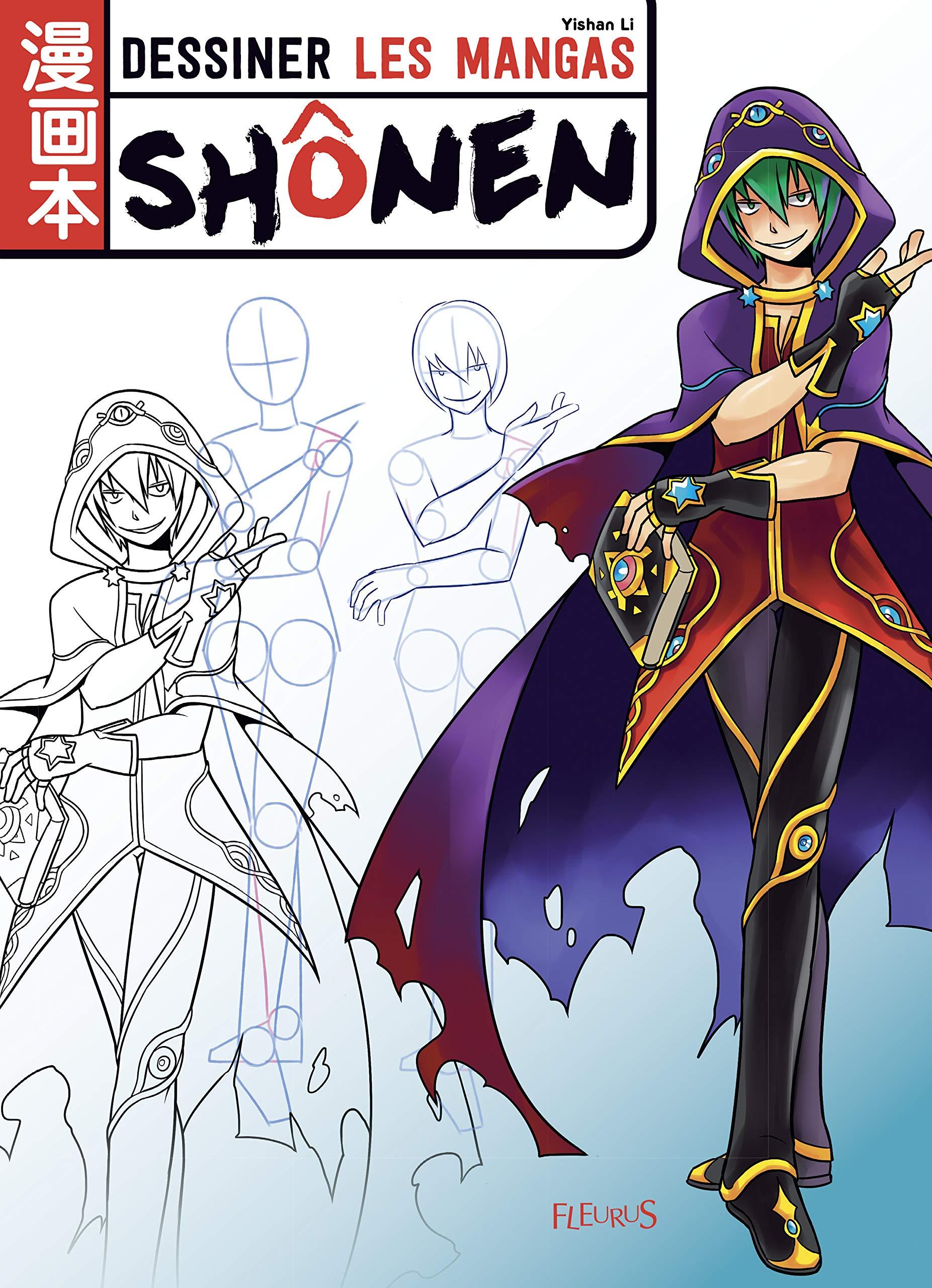 Amazon Fr Dessiner Les Mangas Shonen Yishan Li Livres