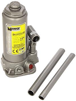MAURER 2325510 Gato Hidraulico Maurer Botella 5000 Kg.: Amazon.es: Coche y moto