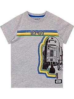 Star Wars Camiseta para ni/ños Guerra de Las Galaxias R2-D2