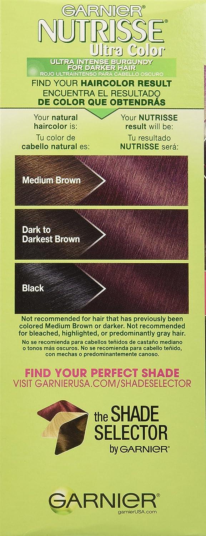 Amazon.com: Garnier Nutrisse Ultra Color Nourishing Hair Color Creme ...