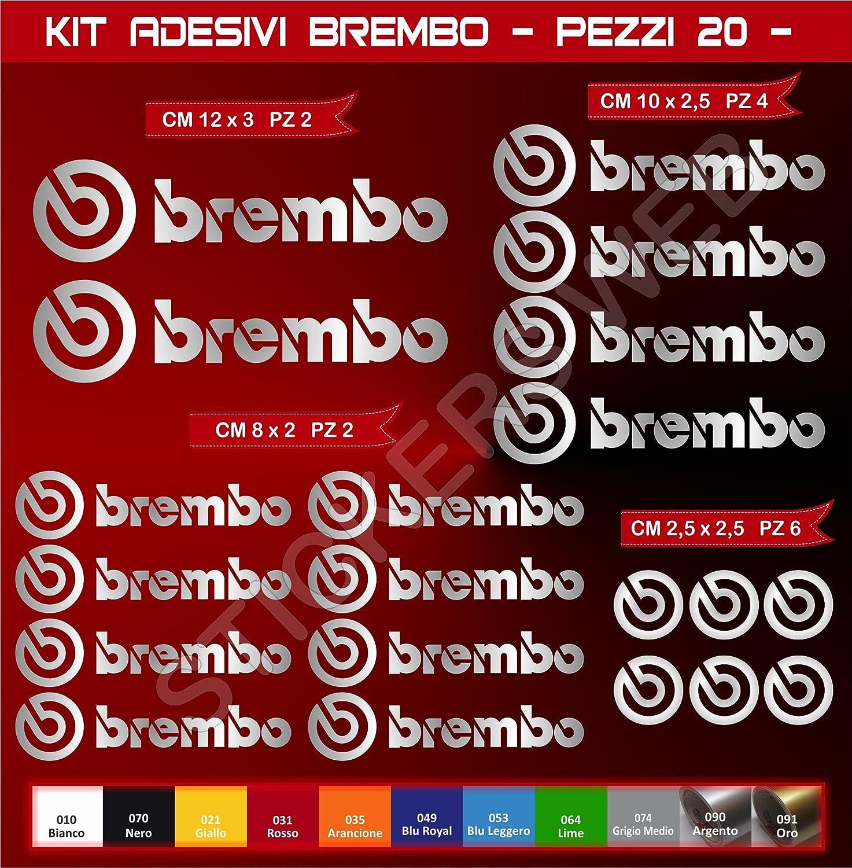 Adh/ésifs Stickers pegatina BREMBO Moto Motorcycle cod 0576