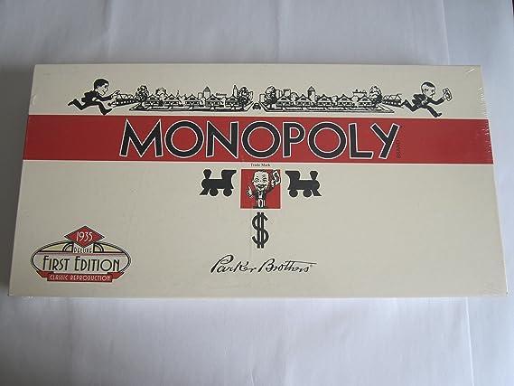 Winning Moves Monopoly 1935 First Deluxe Edition: Amazon.es: Juguetes y juegos