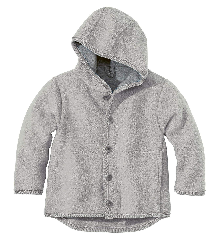 Disana 32310XX - Walk-Jacke Wolle grau, Size / Größe:110/116 (4-5 Jahre) 26539-124-00550-21