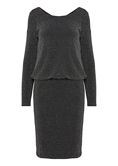 99e42ecf55de Fransa Liris 2 Dress - Silver Mix  Amazon.co.uk  Clothing
