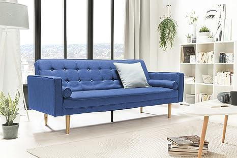 Salesfever Designer Schlafsofa Couch Mit Schlaffunktion Stoff