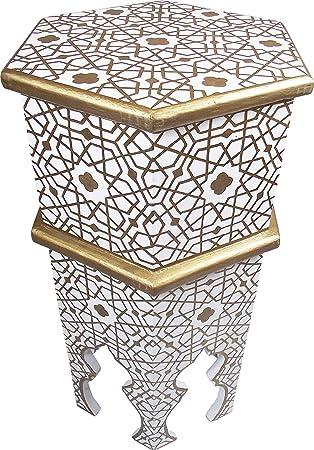 Casablanca Orient Orientalischer Marokkanischer Beistelltisch Aus