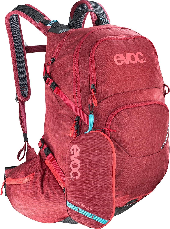 Evoc Explorer Pro - Mochila Unisex, color Rojo (Ruby), talla única ...