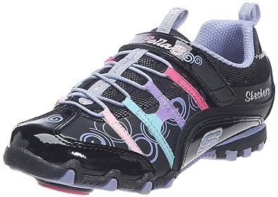 Skechers Bella Ballerina Spin Rider 782022L - Zapatillas para niña, color negro, talla 32: Amazon.es: Zapatos y complementos