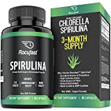 Rocufast Spirulina Capsules Green Superfood