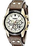 Fossil Men's CH2987 Coachman Analog Display Analog Quartz Brown Watch