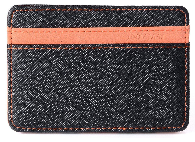 Billetera Mágica Efectivo Identificación Tarjetas Delgada con Broche para Slim soporte Mini