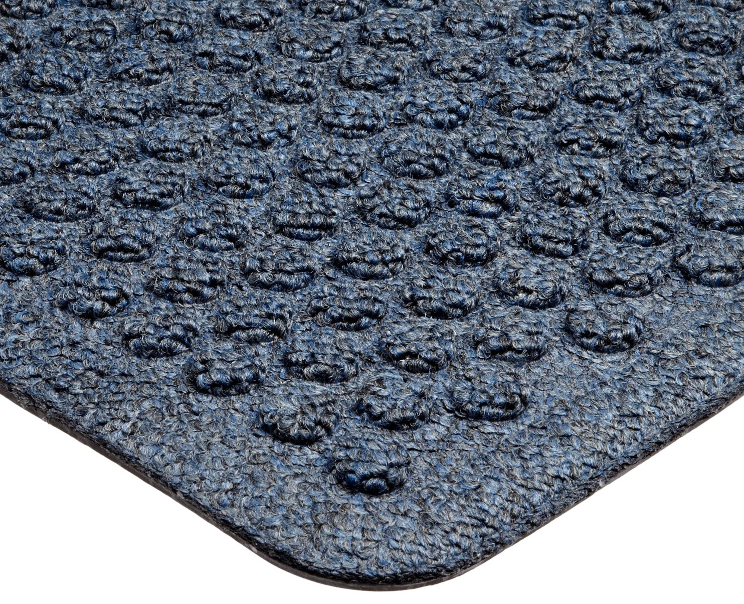 Notrax 150 Aqua Trap Entrance Mat, for Main Entranceways and Heavy Traffic Areas, 3' Width x 5' Length x 3/8'' Thickness, Slate Blue