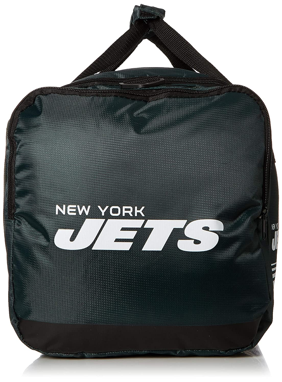 New York Jets Medium Striped Core Duffle Bag