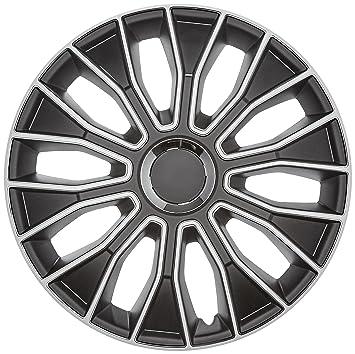 Autostyle PP 5213 Voltec Pro Set de tapacubos, 13 pulgadas, color negro y blanco: Amazon.es: Coche y moto