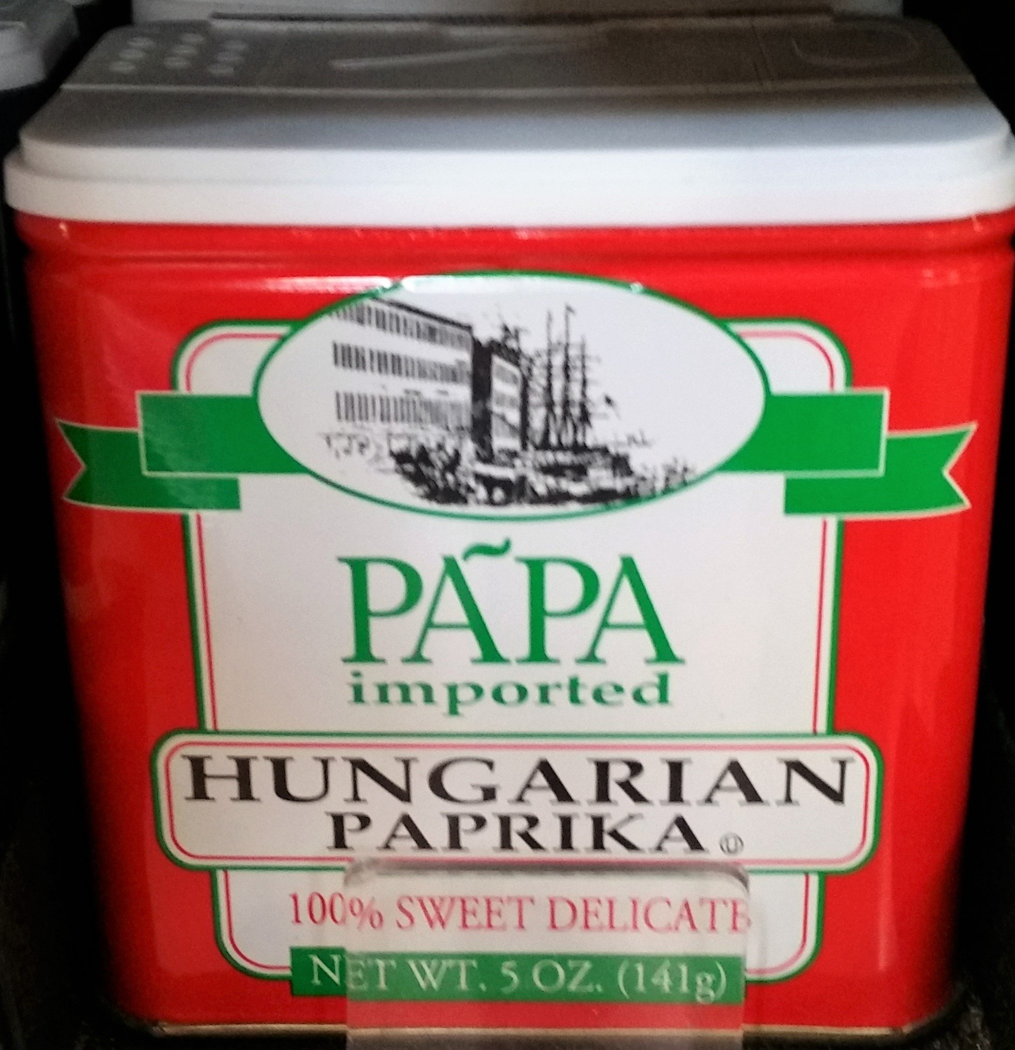 Papa Imported Hungarian Paprika 5 oz (Pack of 3)