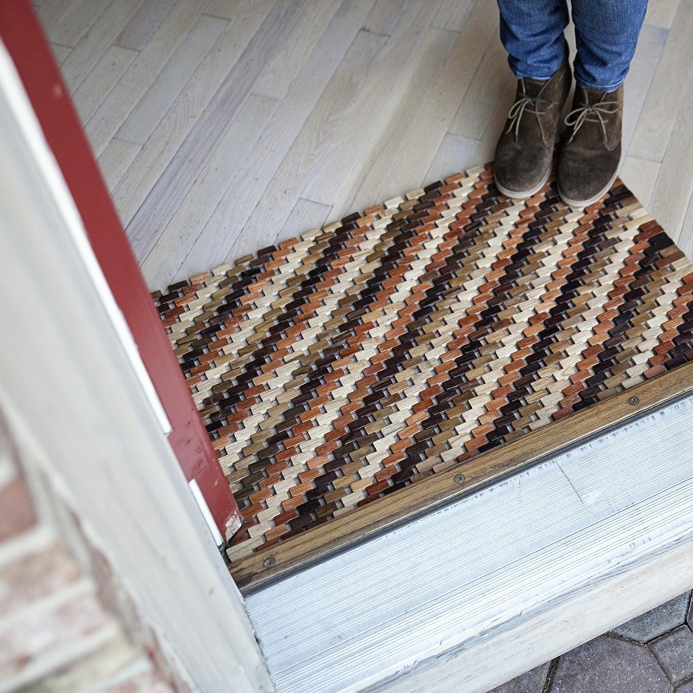 Entryways Roosevelt Exotic Rubberwood Mat 18 X 30 X .4