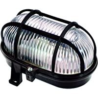as - Schwabe Ovale lamp – roosterlamp tot 60 W – behuizing voor LED-spot – plafondlamp/wandlamp voor buiten en binnen…