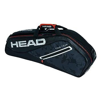 Head Tour Team 3R Pro Raqueta de Tenis Bolsa, Color Negro/Plata, tamaño n/a: Amazon.es: Deportes y aire libre