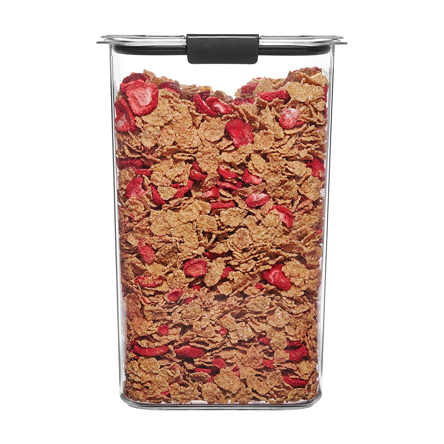 Rubbermaid Brilliance Pantry Airtight Food Storage Container, BPA-Free Plastic
