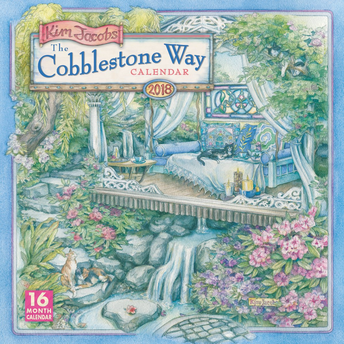 The Cobblestone Way - Kim Jacobs 2018 Wall Calendar (CA0118): Kim ...