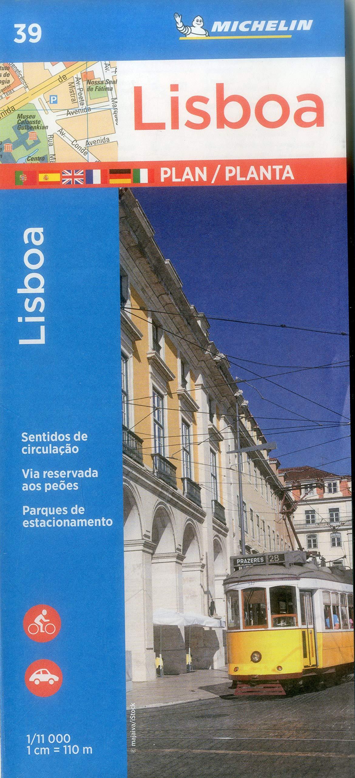 Download Michelin Lisbon Map 39 (Maps/City (Michelin)) ebook