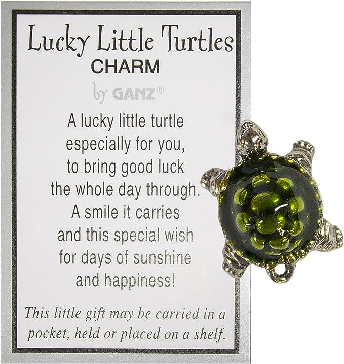 Believe 1.5 Inch Lucky Turtle Figurine By Ganz