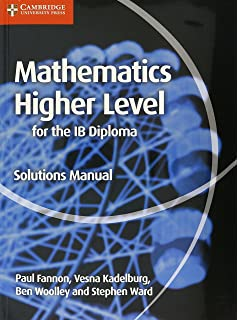 Amazon pearson bacc sl maths 2e bundle 2nd edition pearson mathematics for the ib diploma higher level solutions manual maths for the ib diploma fandeluxe Images