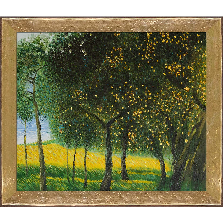 1901 Luxury Line Framed Oil Reproduction of an Original Painting by Gustav Klimt Varies overstockArt Fruit Trees