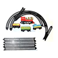 C63® Miniture Railway Train Set - Battery Powered. Easy Assembly. Coal, Passenger and Dairy.