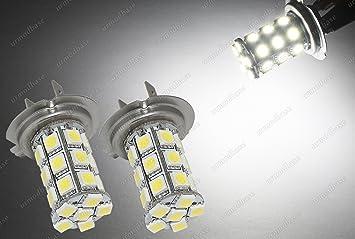 Led H7 Lampen : H k smd led hid weiß strobe flash police drl nebel