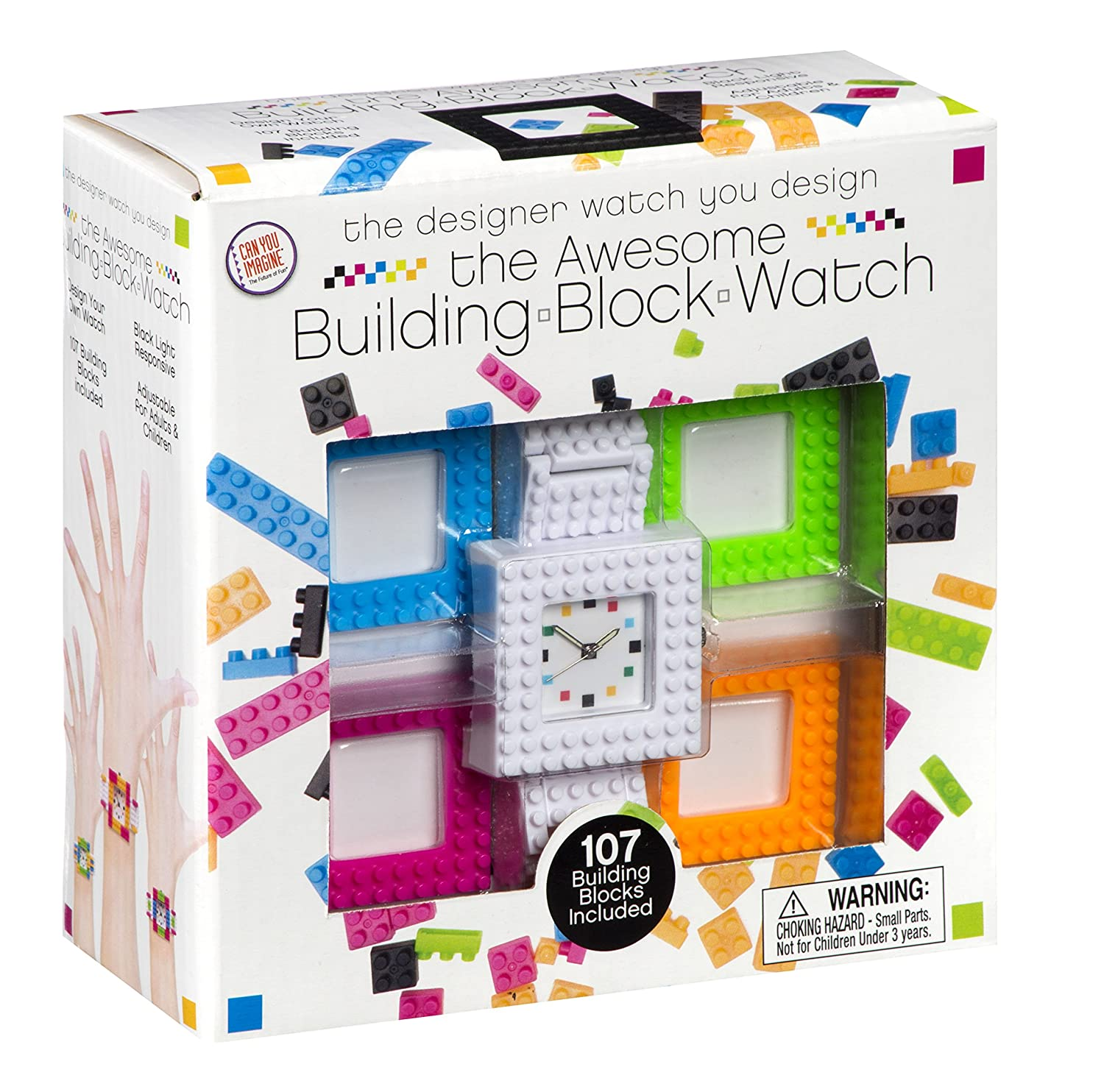 Amazon Can You Imagine Building Blocks Watch Toy Toys