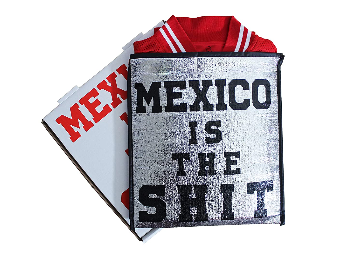 Mexico is the Shit Letterman Jacket for Women