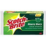 Scotch-Brite Heavy Duty Scrub Sponge, 9-Sponges