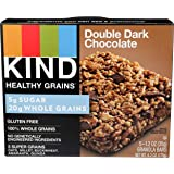 Kind Bars, Healthy Grains Double Dark Chocolate, 5 Count, Net Wt. 6.2 Oz