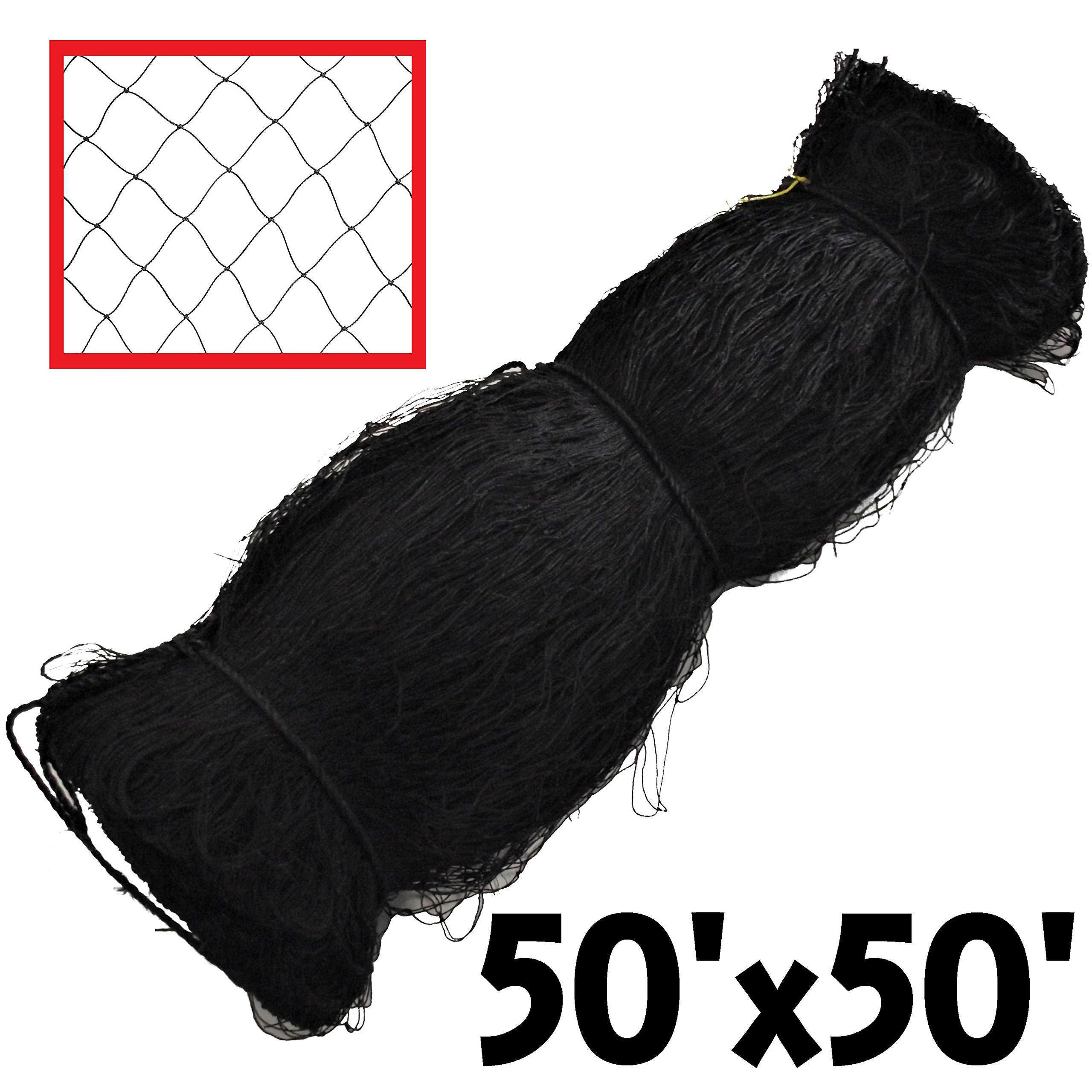 RITE FARM PRODUCTS 50X50 POULTRY BIRD AVIARY NETTING GAME PEN NET GARDEN CHICKEN ANTI