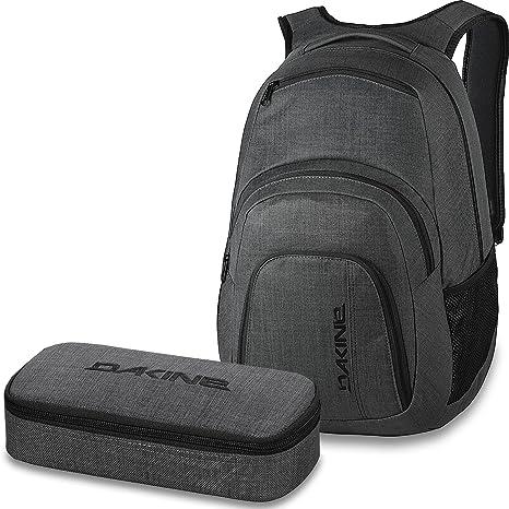 fe86df7b801eb SCHOOL CASE Mäppchen Sporttaschen   Rucksäcke DAKINE SET Laptop Rucksack  Schulrucksack CAMPUS LG 33l