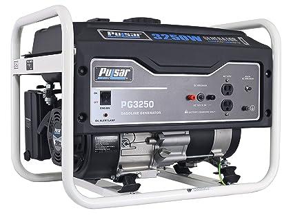 Amazon.com: Pulsar generador de gas., 3250 - vatios ...