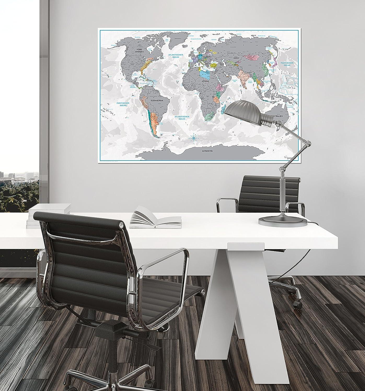 Großzügig Weltkarte Eingerahmt Fotos - Rahmen Ideen ...
