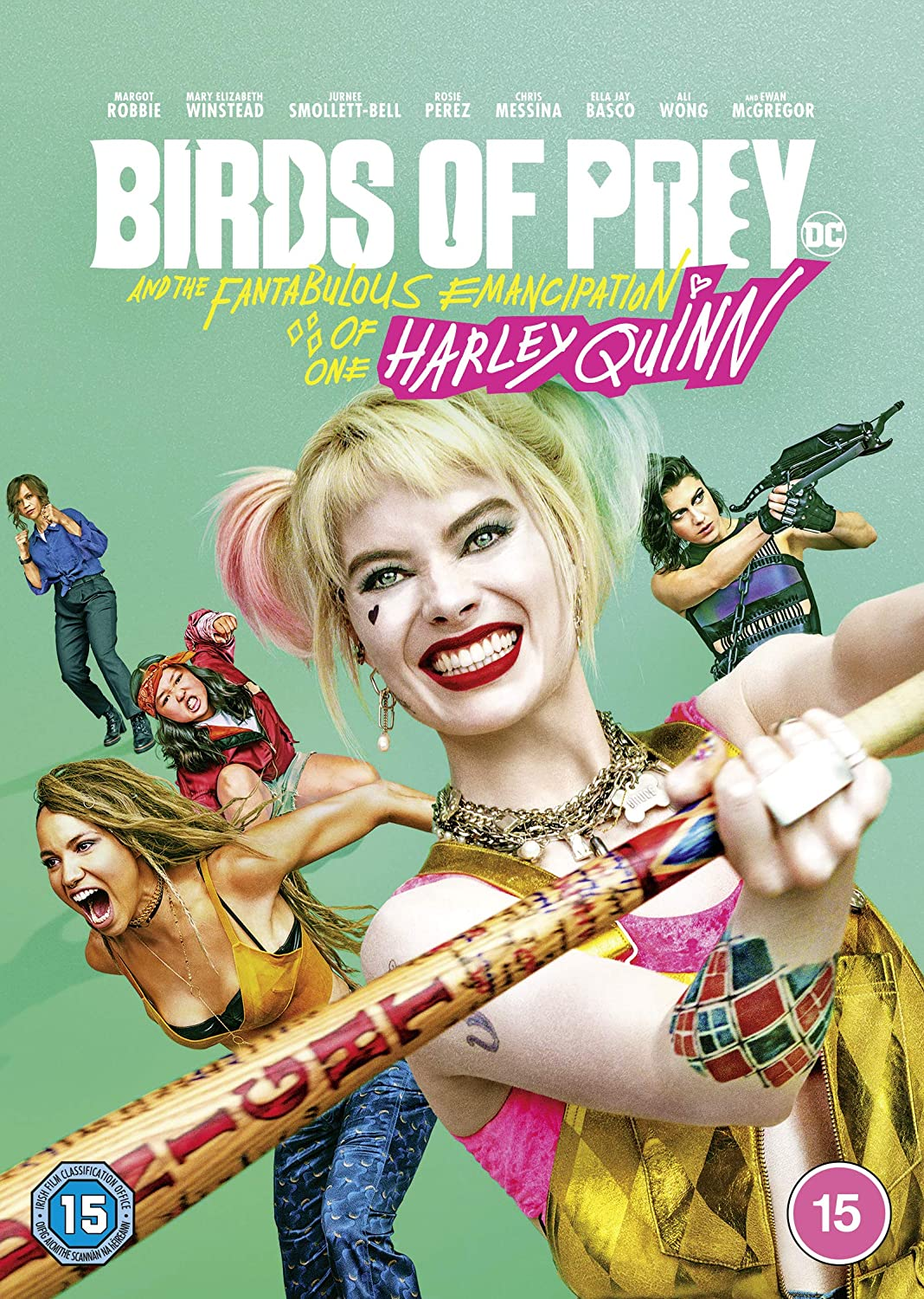 Amazon Com Birds Of Prey And The Fantabulous Emancipation Of One Harley Quinn Dvd 2020 Movies Tv