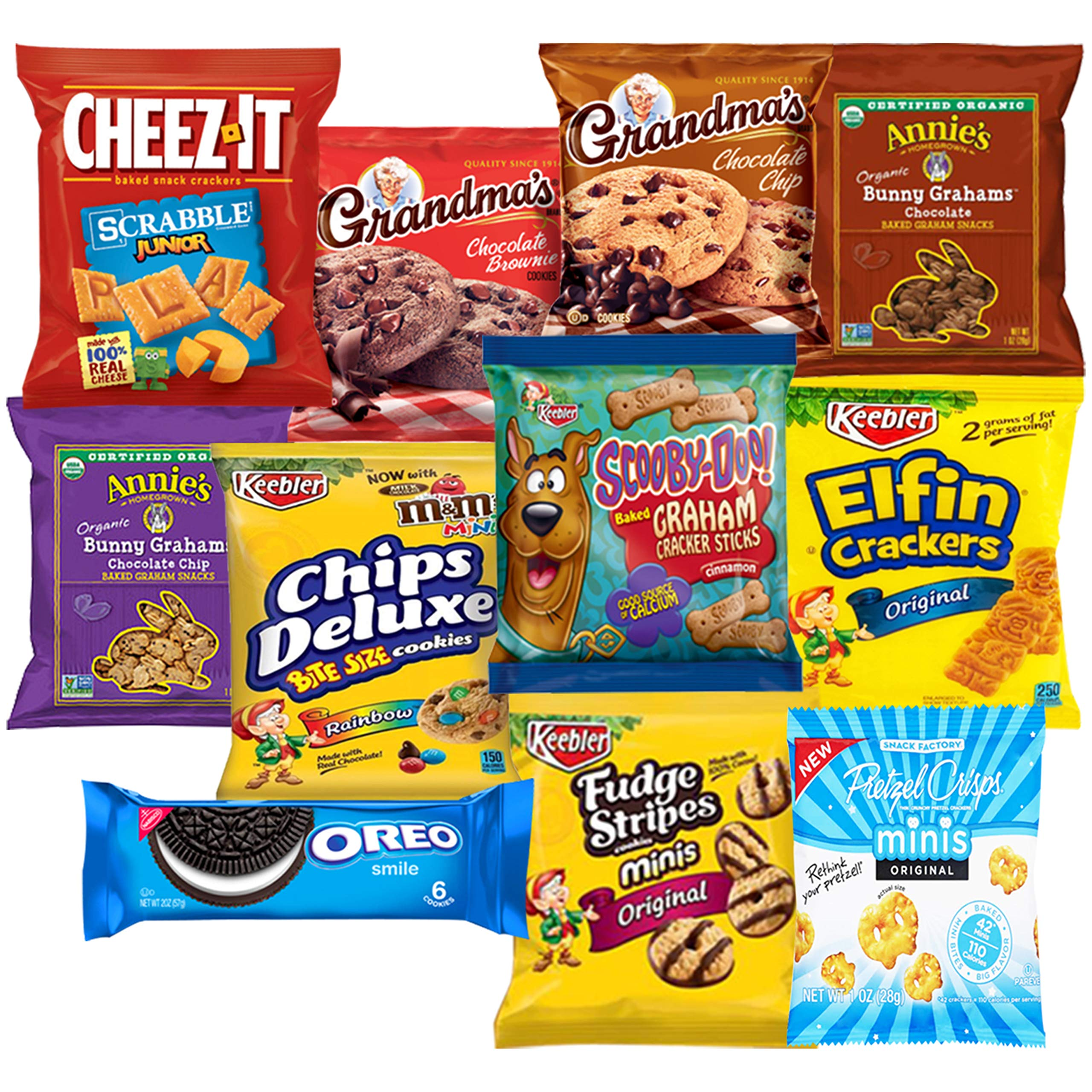 Snack Chest Care Package (40 Count) Variety Snacks Gift Box - College Students, Military, Work or Home - Over 3 Pounds of Chips Cookies & Candy! by Snack Chest (Image #2)