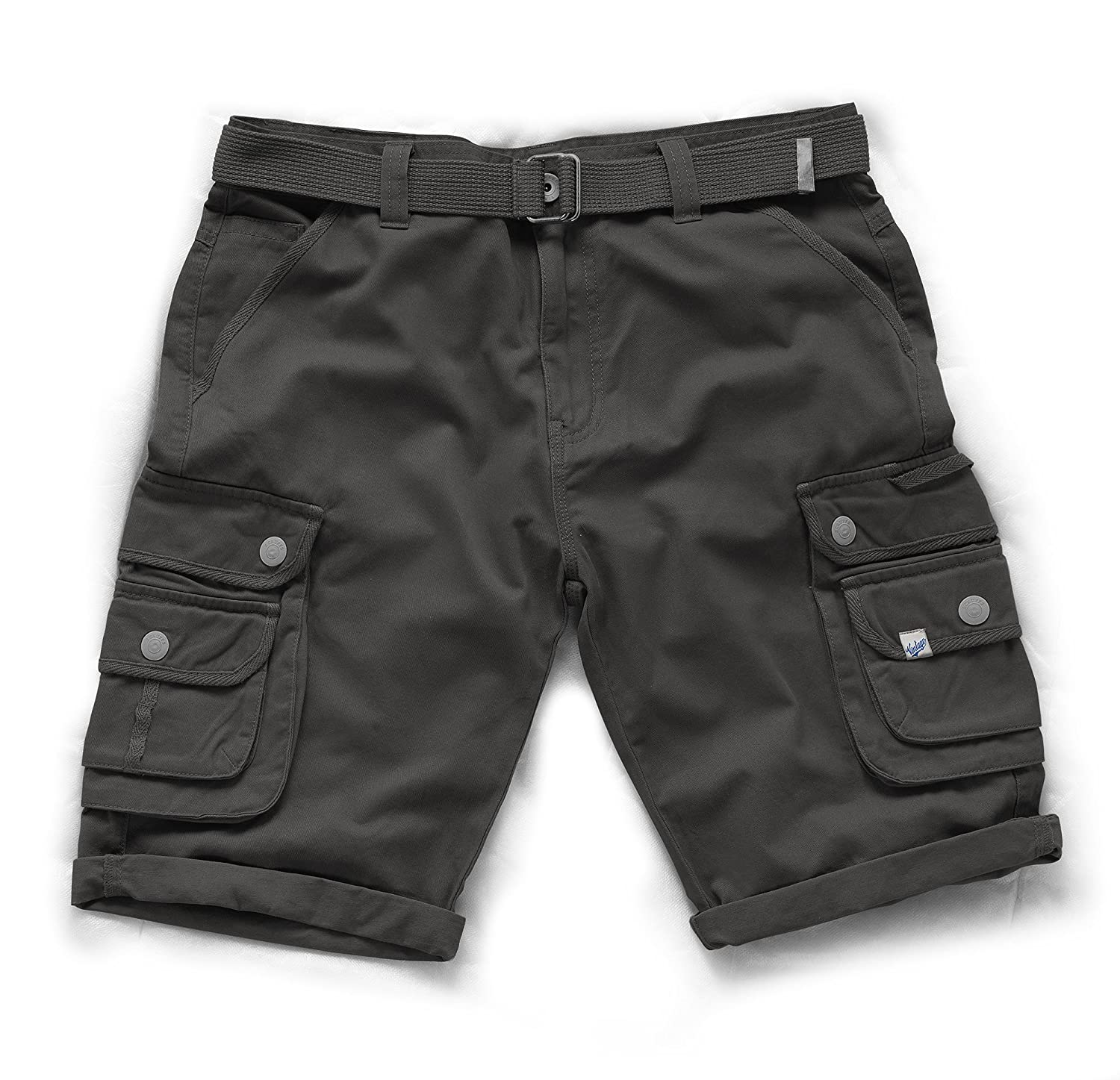 Scruffs Short cargo pour homme T52824 blanc Taille 32/