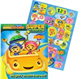 Team Umizoomi Jumbo Coloring Book with Stickers (144 Pages)