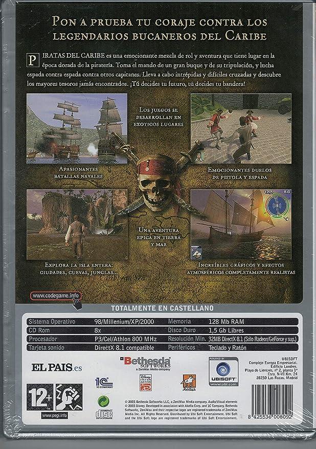 Piratas del Caribe PC CD ROM Videojuego: Amazon.es: Videojuegos